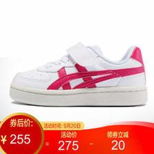 Onitsuka Tiger/鬼塚虎 休闲鞋 童鞋 女童鞋 GSM TS 1184A023-102 白色/红色 25 255元