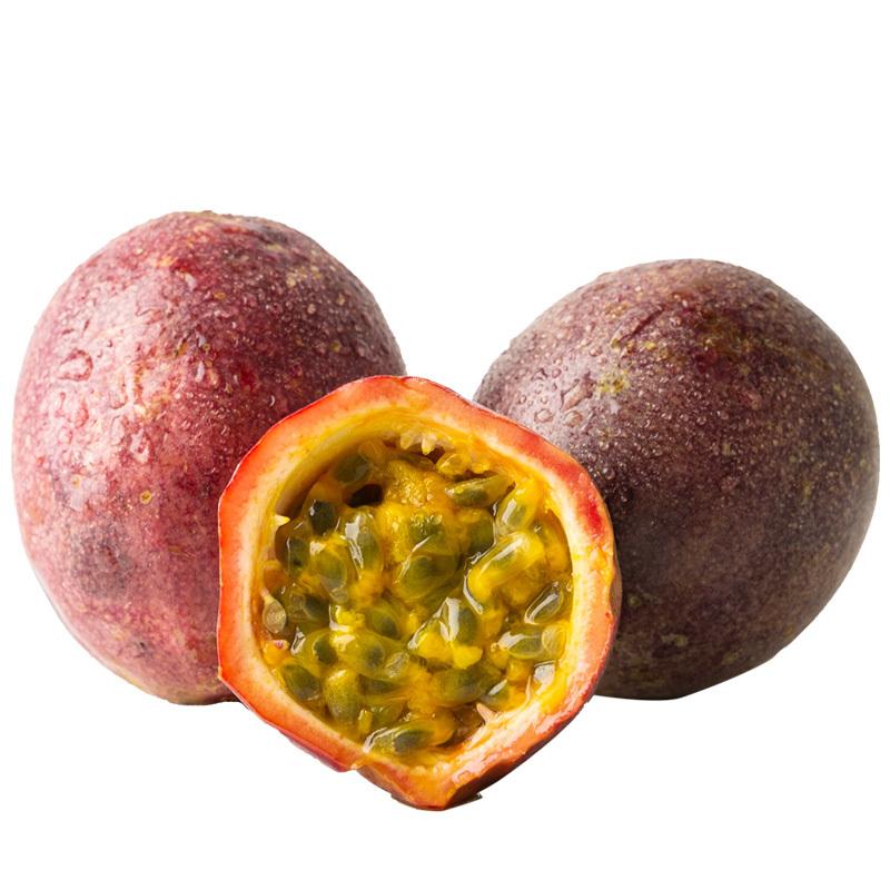 百香果5斤包邮新鲜中小果现摘鸡蛋果西番莲酸甜多汁热带孕妇水果 24.8元