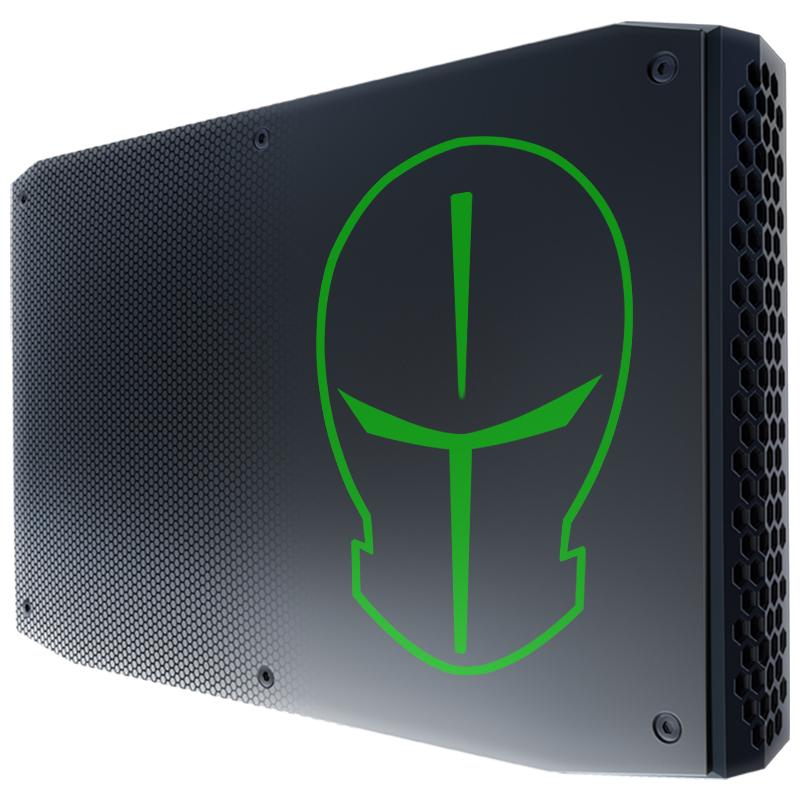 历史低价、双11预告: TERRANS FORCE 未来人类 英特尔 NUC-GL1主机(i7-8705G、8GB、256GB) 3999元包邮