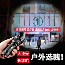 SHENYU 神鱼 强光充电多功能led手电  券后6.9元