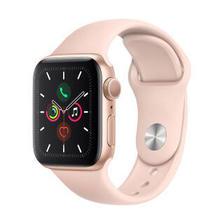 Apple Watch Series 5智能手表(GPS款 40毫米金色铝金属表壳 粉砂色运动型表带 ) 2