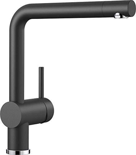 ¥1106.99 Blanco 铂浪高 Linus-S系列 516698 可抽拉式厨房龙头