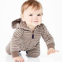 $8 (原价$22),叠券更低 Carter's 婴儿连体外套热卖,为秋冬做准备
