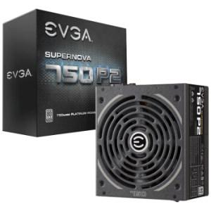 EVGA 750 P2 额定750W 全模组 电源(80PLUS白金牌) 799元包邮