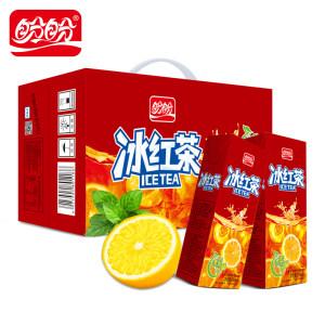 盼盼 冰红茶饮料250ml*24瓶整箱 17.8元包邮