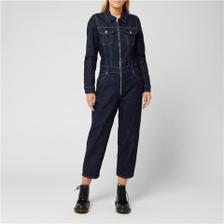 【满两件享7.5折免邮】Levi's 牛仔拉链长袖牛仔连体裤