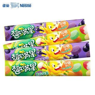 雀巢趣满果果汁软糖混合多味儿童软糖 *2件 49.8元(需用券,合24.9元/件)