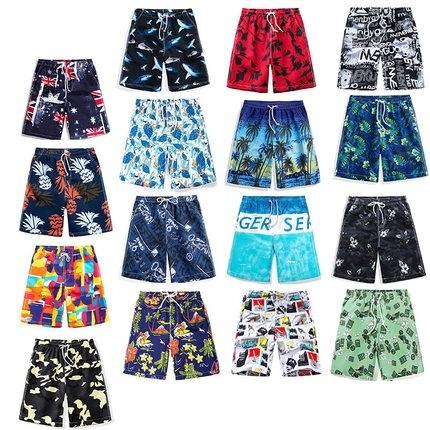 欧萨 男/女款夏季沙滩裤 24款可选 13.9元(需用券)