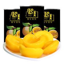 新鲜糖水黄桃罐头425克*5罐砀山烘焙水果罐头整箱包邮 22.9元