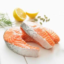 拓食 智利轮切三文鱼排(大西洋鲑)380g/袋 2-3片 富含Ω3 海鲜水产 *6件 179.4
