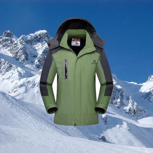 冲锋衣加厚防风户外保暖外套 ¥29