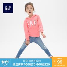 Gap 女婴幼童套头连帽卫衣 94元