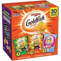 现价$9.98 美亚精选 Pepperidge Farm Goldfish 小金鱼芝士饼干 30包多口味装)