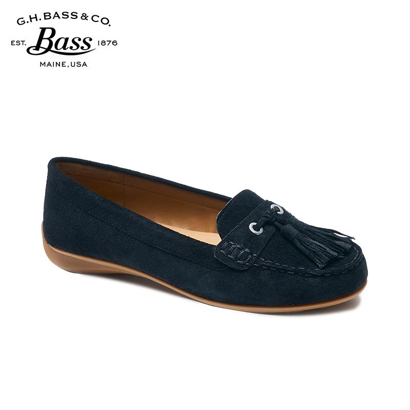 ¥219 G.H.Bass豆豆鞋女真皮平底鞋