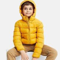 $29.9+包邮 每年爆款 轻便颜色多 UNIQLO 儿童轻量保暖外套立减 $10,儿童长裤$14.9