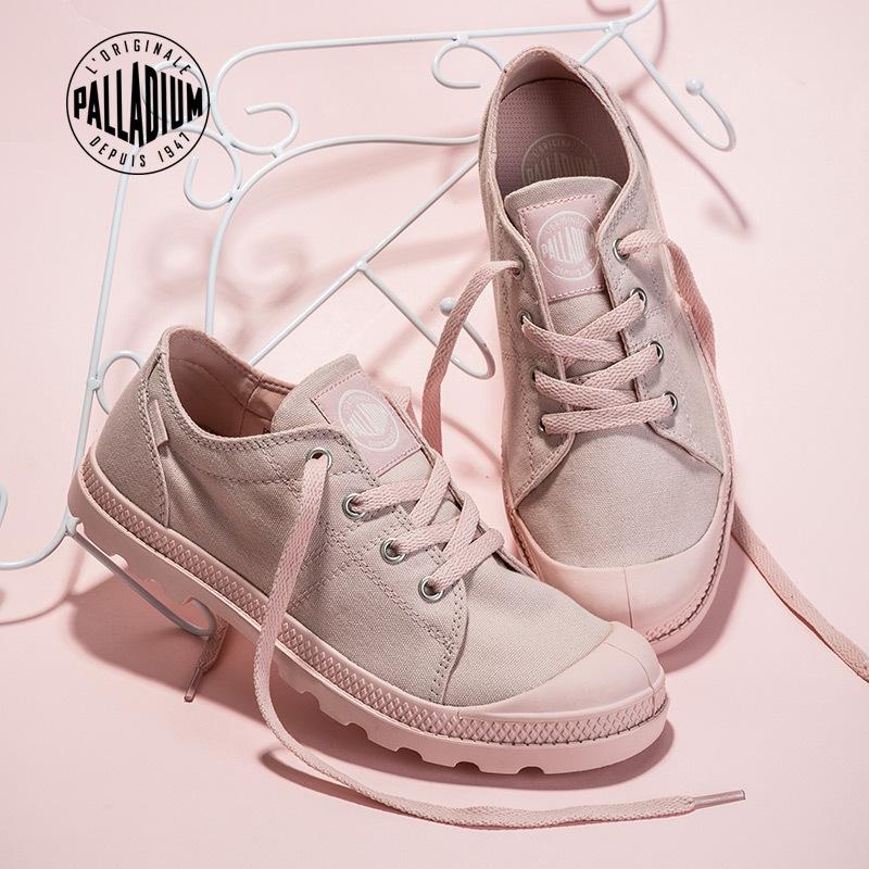 ¥199 PALLADIUM 95419 女款帆布鞋