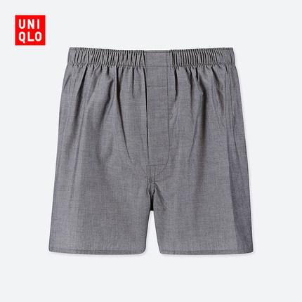 ¥35 男装 平脚短裤 418814 优衣库UNIQLO