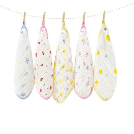 14日0点:洁丽雅 婴儿洗脸毛巾 5条装 8.9元包邮(需用券) ¥9