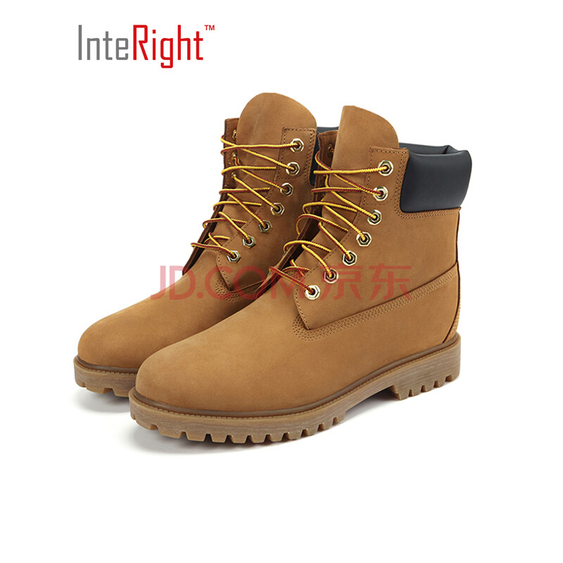 InteRight 男士防水工装靴 199元包邮(需用券)