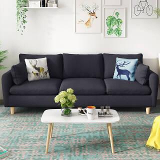 可拆洗沙发3人位组合沙发小户型客厅沙发  券后1180元