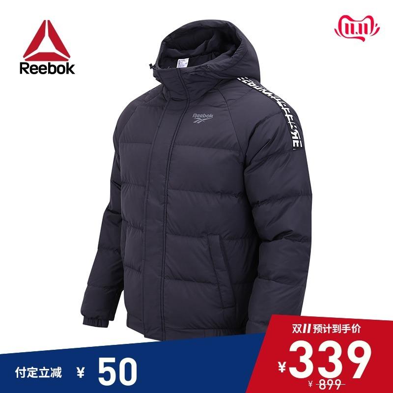 双11预售: Reebok 锐步 CN MID DOWN JKT1 男子冬季加厚保暖羽绒服 339元(定金50元)