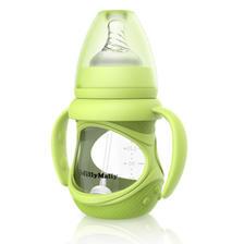爆款返场 婴儿玻璃防摔奶瓶 券后¥14.9