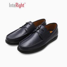 INTERIGHT男士经典系带舒适透气按摩鞋垫皮鞋 蓝色 41 *2件+凑单品 99.6元(合49.