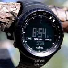 ¥699 直降93元,Suunto 颂拓 Core 深黑户外手表