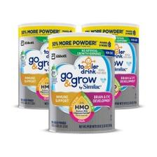 【中亚Prime会员】Similac 美国雅培 3段HMO低聚糖低聚乳糖金盾奶粉 1.02kg*3罐