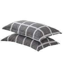 南极人(Nan ji ren) 全棉枕套一对装纯棉印花枕头套单人学生宿舍枕芯套48x74