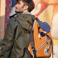 双肩包$45,零钱包$10 米奇合作款也参加 Kipling 精选挎包, 钱包, 双肩包等额