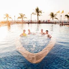 6月14日出发~上海往返珠海海泉湾度假区双飞4日3晚自由行机酒套餐 宿维景国际酒店海景房