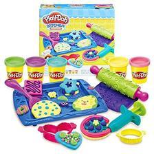 孩之宝(Hasbro) Play-Doh 培乐多彩泥 创意厨房系列 曲奇组合 彩泥 B0307 49.4元