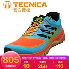 泰尼卡TECNICA 雷电3.0款 专业轻量防滑抓地越野跑鞋 户外运动男女马拉松跑鞋