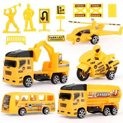 回力工程车玩具套装儿童消防吊车挖推土挖掘机巴士小汽车056q 券后29.9元