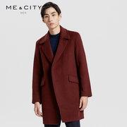 ME&CITY 男士长款合体大衣 299元 ¥299'