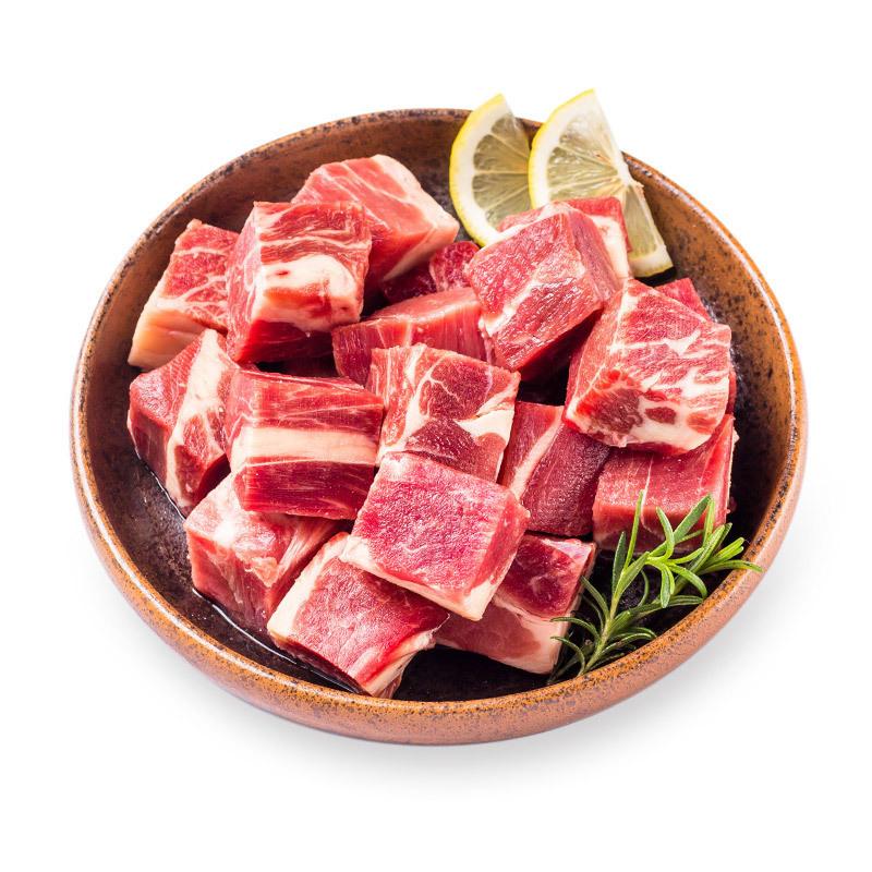 限广东上海陕西:赤豪 新鲜牛肉 500g *5件 104.5元(需用券,合20.9元/件)