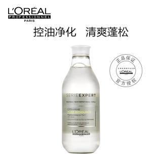 欧莱雅(LOREAL)净油平衡洗发水 300ml(进口/专业)清爽去屑控油止痒无硅油 37.37元