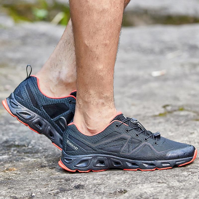 降28元 专柜同款、湿地防滑:探路者 19年新款 溯溪鞋 双重优惠后171元包邮(专柜499元)