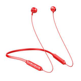 夏新A10 无线蓝牙耳机运动型跑步耳塞挂耳式头戴双耳入耳 小米苹果安卓手机通用 热情红 32.33元