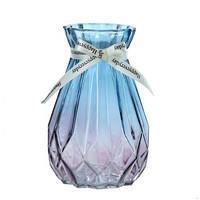 乐之沭 彩色渐变玻璃花瓶 15cm 3.5元包邮 ¥4
