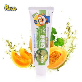 啵乐乐(Pororo)儿童牙膏90g(3-12岁)韩国 哈密瓜味 10.45元