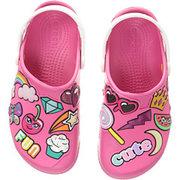 折合151.13元 Crocs Kids Fun Lab Playful Patches Clog 童款洞洞鞋'