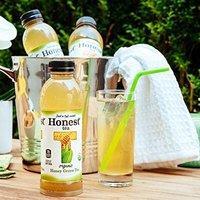 $9.93 蜂蜜甘甜 天然有机 Honest Tea 有机蜂蜜绿茶, 16.9Oz 12瓶