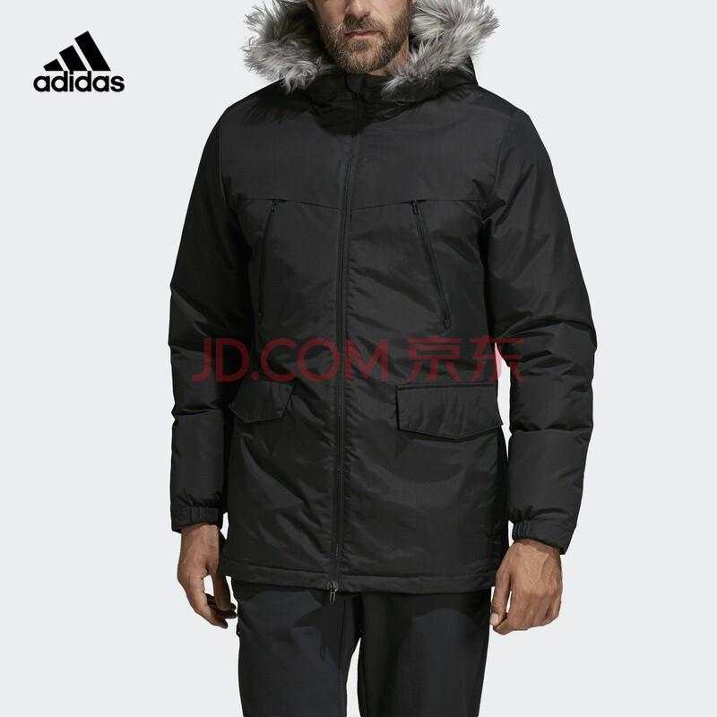 21日0点、双11预售: adidas 阿迪达斯 CF0879 男款中棉夹克 439元(需定金)
