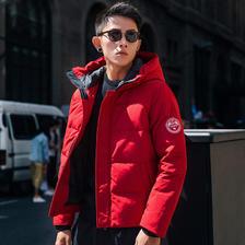 no1dara 2019新款羽绒服男潮短款冬季加厚高端品牌爸爸装男羽绒衣 299元