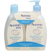 Aveeno 艾維諾 寶寶洗發沐浴二合一 +保濕乳液 354ml*2瓶 ¥59.35'