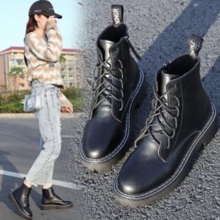 杨幂同款 米兰街拍款马丁靴 ¥50