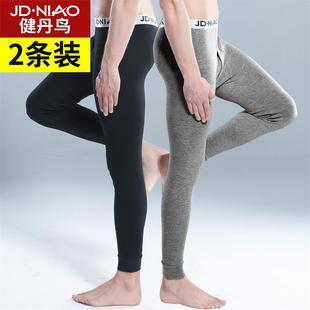 健丹鸟 男士纯棉保暖裤2条装 券后¥24.9