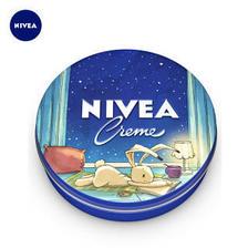 妮维雅(NIVEA) 蓝罐润肤霜 童话版 60ml *3件 44.85元(合14.95元/件)